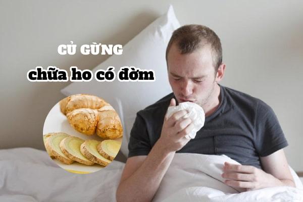 Chữa cảm cúm bằng gừng