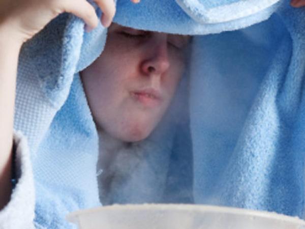 Xông mũi chữa viêm mũi dị ứng