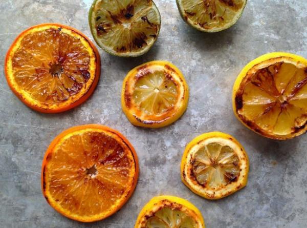 cam nướng có thể trị ho